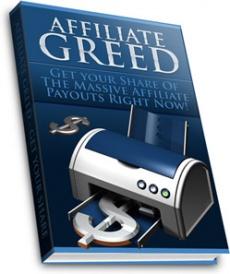 Ebook cover: Affiliate Greed