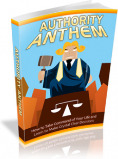 Ebook cover: Authority Anthem