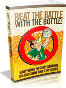 Ebook cover: Beat The Battle With The Bottle