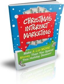 Ebook cover: Christmas Internet Marketing