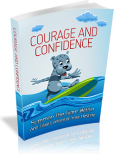 Ebook cover: Courage And Confidence