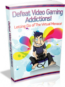 Ebook cover: Defeat Video Gaming Addictions