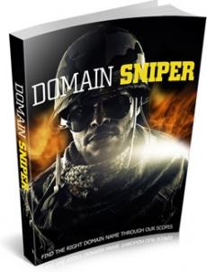 Ebook cover: Domain Sniper