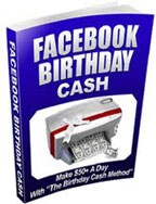 Ebook cover: Facebook 'Birthday Cash' Method