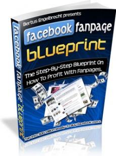 Ebook cover: Facebook Fanpage Blueprint