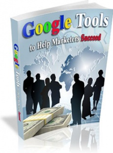 Ebook cover: Google Tools to Help Marketers Succeed