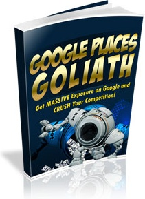 Ebook cover: Google Places Goliath