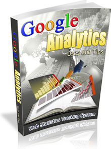 Ebook cover: Google Analytics Uses and Tips