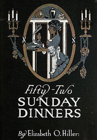 Ebook cover: 52 Sunday Dinners