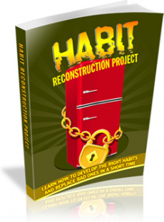 Ebook cover: Habit Reconstruction Project