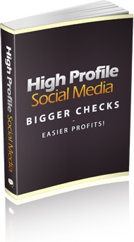 Ebook cover: High Profile Social Media