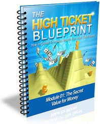Ebook cover: The High Ticket Blueprint