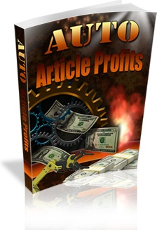 Ebook cover: Auto Article Profits