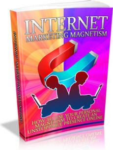 Ebook cover: Internet Marketing Magnetism