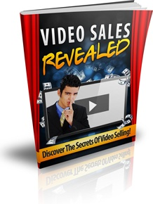 Ebook cover: Video Sales Revealed