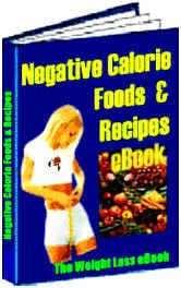 Ebook cover: Negative Calorie Foods Weight Loss eBook