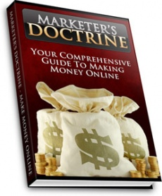 Ebook cover: Marketers Doctrine