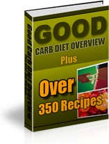 Ebook cover: Good Carb Diet Overview
