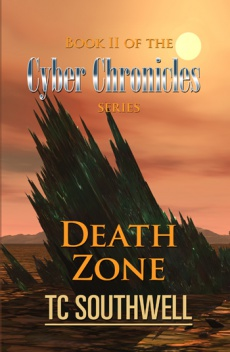 Ebook cover: The Cyber Chronicles II - Death Zone