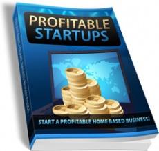Ebook cover: Profitable Startups