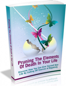 Ebook cover: Pruning The Elements Of Death In Your Life