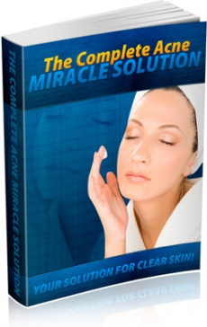 Ebook cover: Quick and Easy Acne Elimination