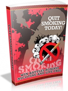 Ebook cover: Quit Smoking Today!