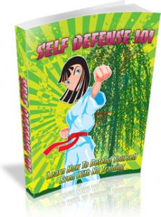 Ebook cover: Self Defense 101