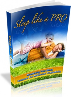 Ebook cover: Sleep Like A PRO