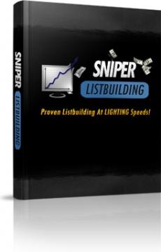 Ebook cover: Sniper List Building