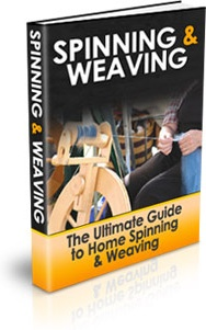 Ebook cover: Spinning and Weaving