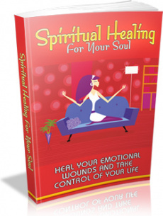 Ebook cover: Spiritual Healing For Your Soul