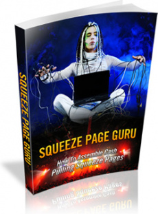 Ebook cover: Squeeze Page Guru