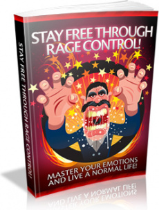 Ebook cover: Stay Free Through Rage Control!