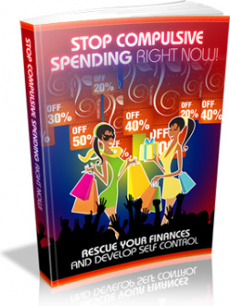 Ebook cover: Stop Compulsive Spending Right Now!