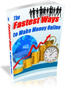Ebook cover: The Fastest Ways to Make Money Online