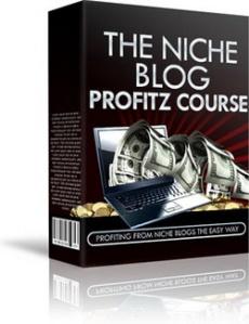 Ebook cover: The Niche Blog Profitz Course