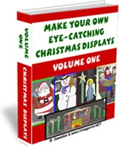 Ebook cover: Make Your Own Unique, Eye-Catching Christmas Displays