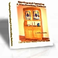 Ebook cover: Starting and Operating A Woodworking Business