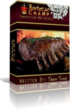 Ebook cover: Barbecue Champ - Competition BBQ Recipes and Techniques