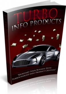 Ebook cover: Turbo Info Products