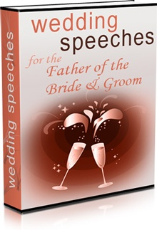 Ebook cover: Wedding Speeches for the Father of the Bride/Groom