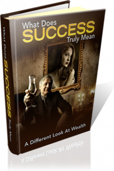 Ebook cover: What Does Success Truly Mean