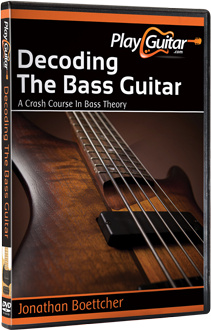 Ebook cover: Decoding the Bass Guitar