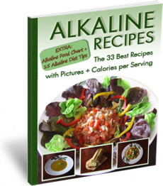 Ebook cover: The Best 33 Alkaline Recipes
