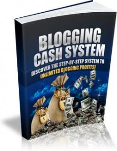 Ebook cover: Blogging Cash System