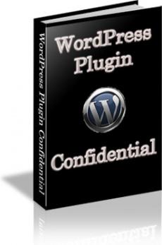 Ebook cover: WordPress Plugin Confidential