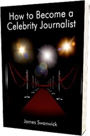 Ebook cover: How to Become a Celebrity Journalist