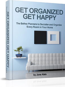 Ebook cover: The BeFree Planners to Declutter and Organize Every Home In Your Room