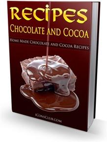 Ebook cover: Chocolate and Cocoa Recipes!